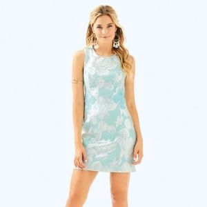 Mila Shift Metallic Shell Jacquard Sea Salt Tint
